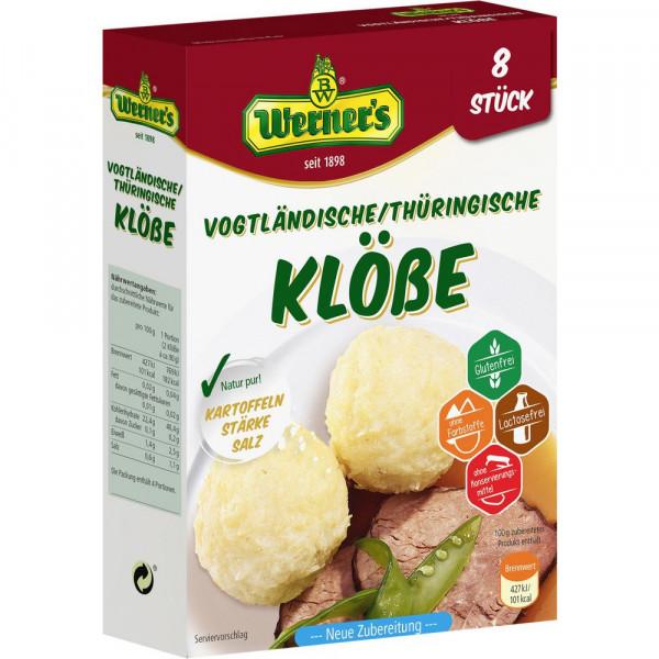 Klöße, Vogtländische / Thüringische Art