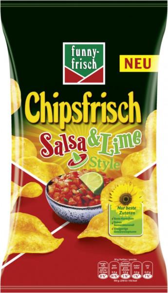 Chipsfrisch Salsa & Lime