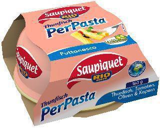 Thunfisch für Pasta, Puttanesca