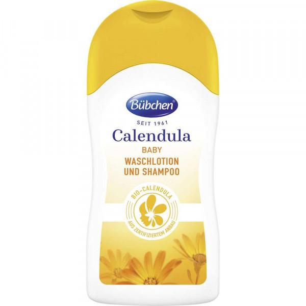 Baby-Waschlotion und Shampoo, Calendula