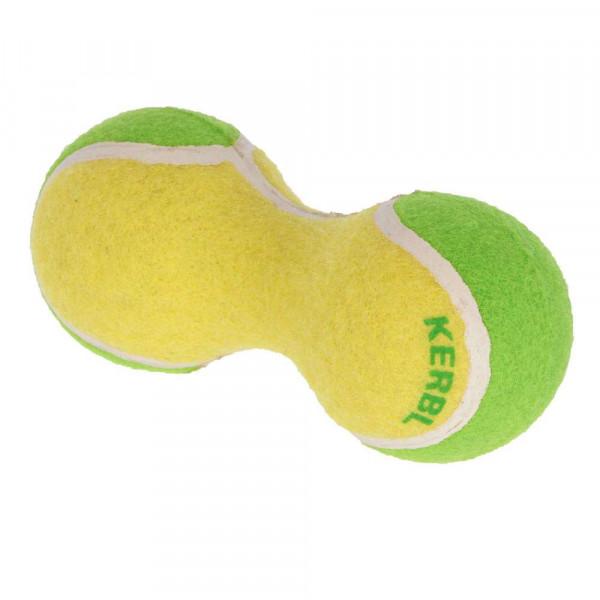 "Hundespielzeug ""Tennishantel"", gelb/grün"