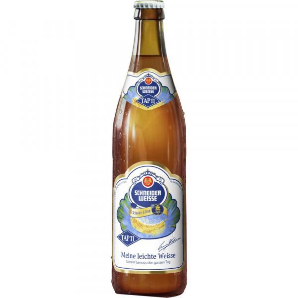 """Weißbier """"TAP11 Unsere leichte Weisse"""" 3,3% (20 x 0.5 Liter)"""