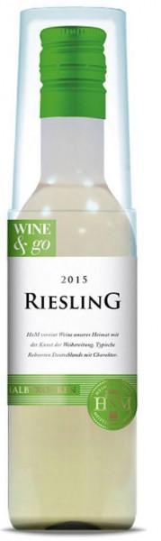 Wine & Go Riesling Rheinhessen DQW