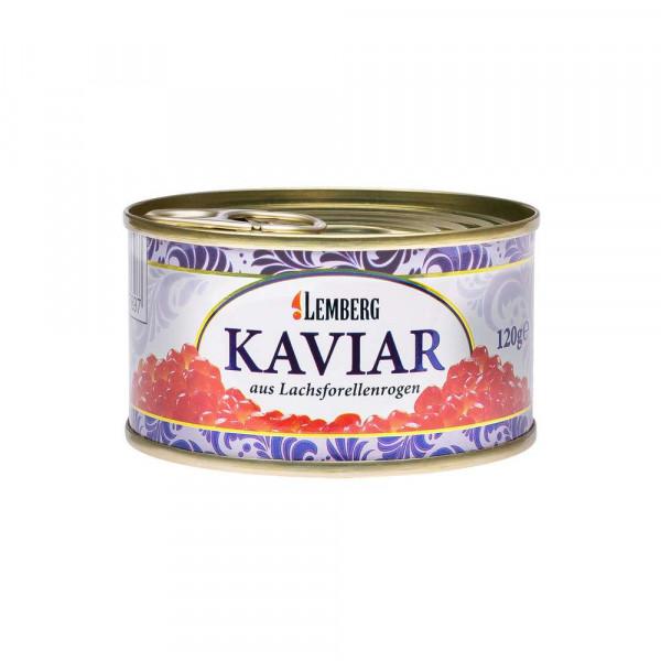 Kaviar aus Lachsforellenrogen