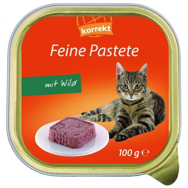 Katzenfutter. Wild