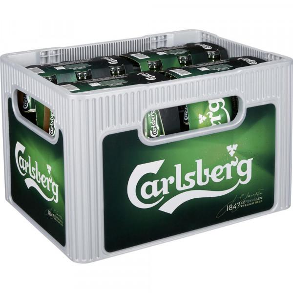 Pilsener Bier 5%(4 Sixpacks in der Kiste zu je 6 x 0.33 Liter)