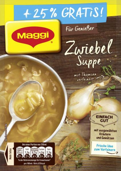 Genießer Suppe, Zwiebel +25%