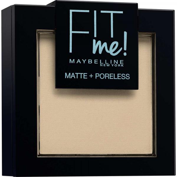 Puder Fit Me Matte + Poreless, Natural Ivory 105