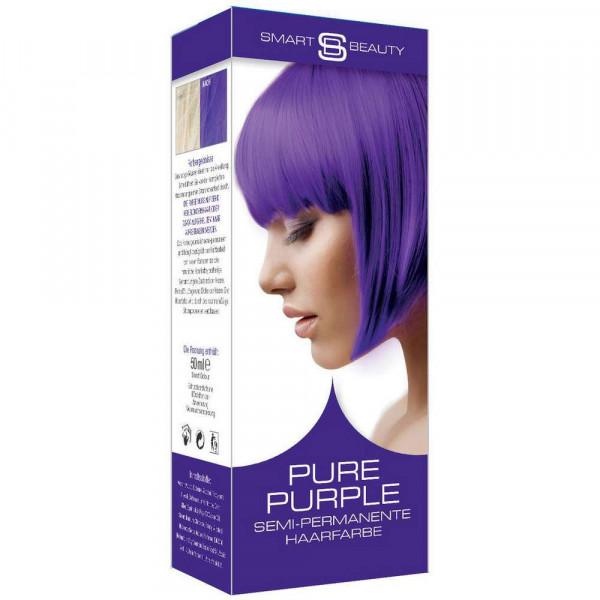 Haarfarbe, lila
