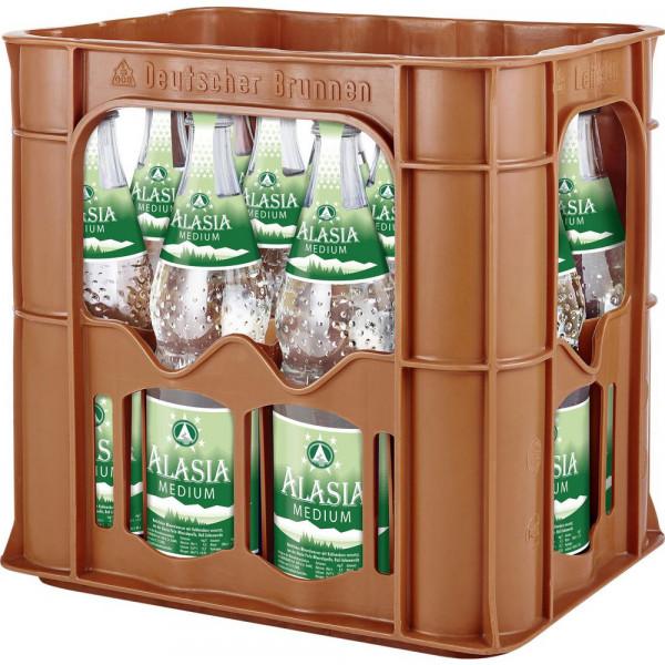 Mineralwasser, Medium (12 x 0.7 Liter)