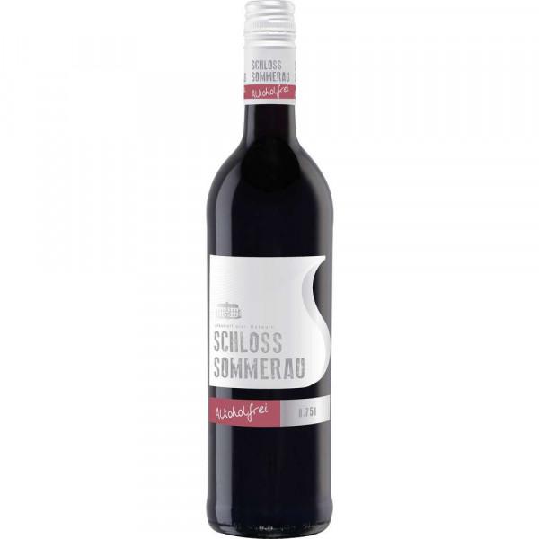 Vollmundiger Rotwein, alkoholfrei