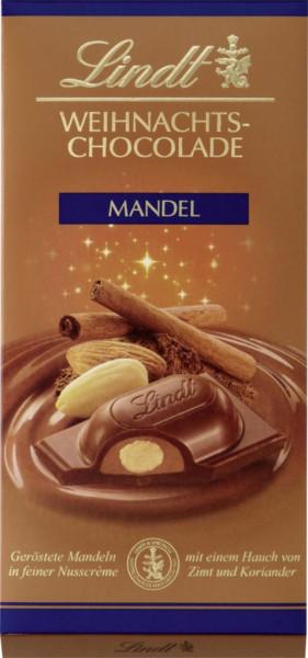 Weihnachtsschokolade, Mandel