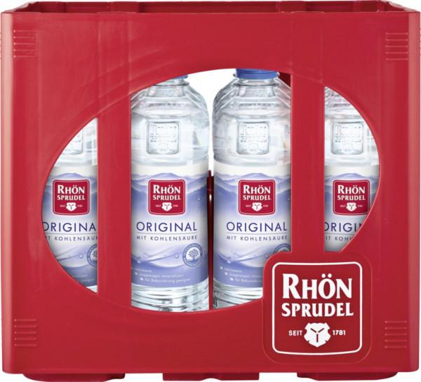 Original Mineralwasser mit Kohlensäure (12 x 0.5 Liter)