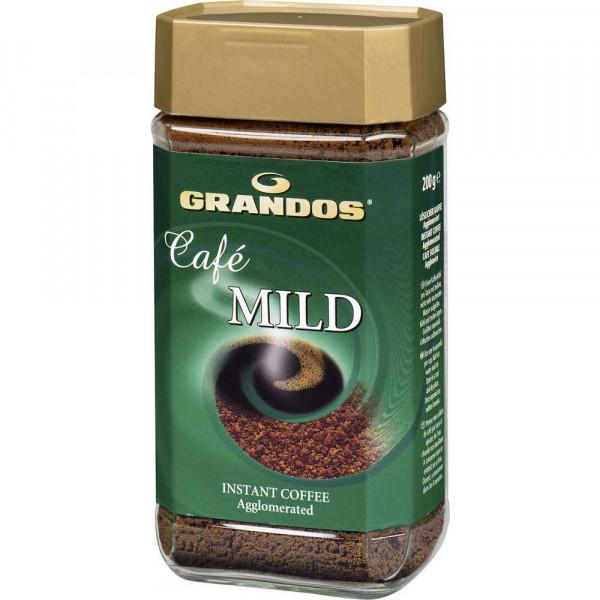 Instant Kaffee, mild