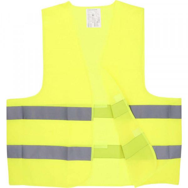 Warnweste gelb DIN EN ISO 20471