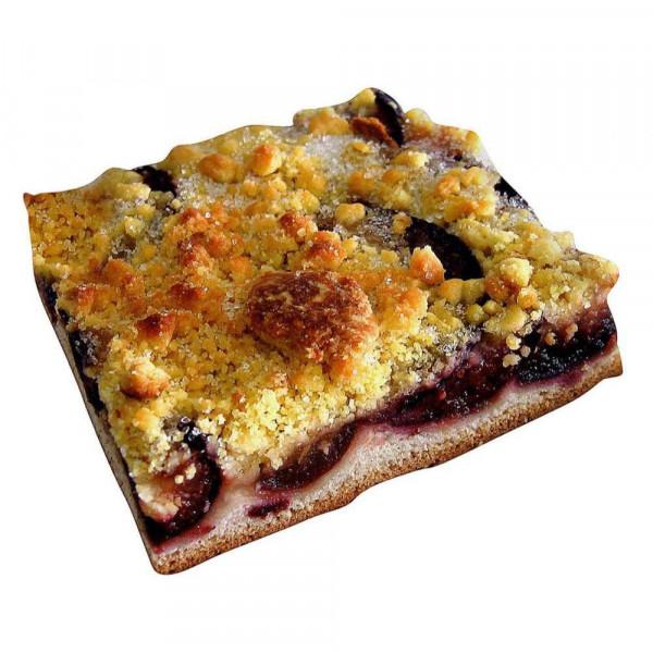 Zwetschgenkuchenschnitte mit Butterstreusel