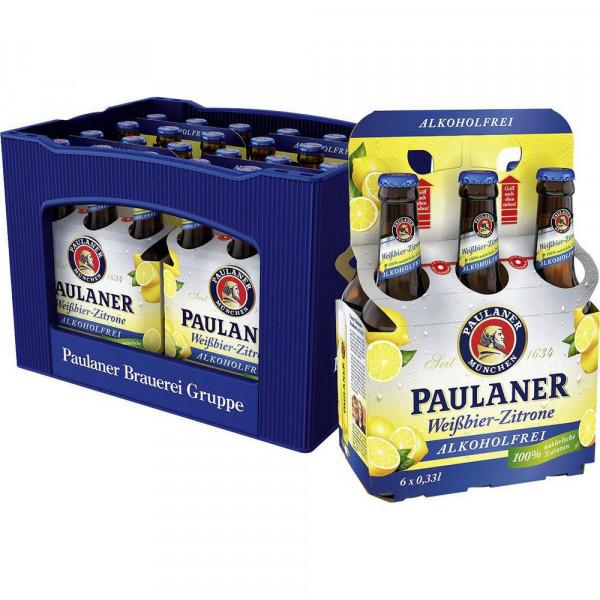 """Alkoholfreies Biermischgetränk """"Weißbier-Zitrone"""" (24 x 0.33 Liter)"""