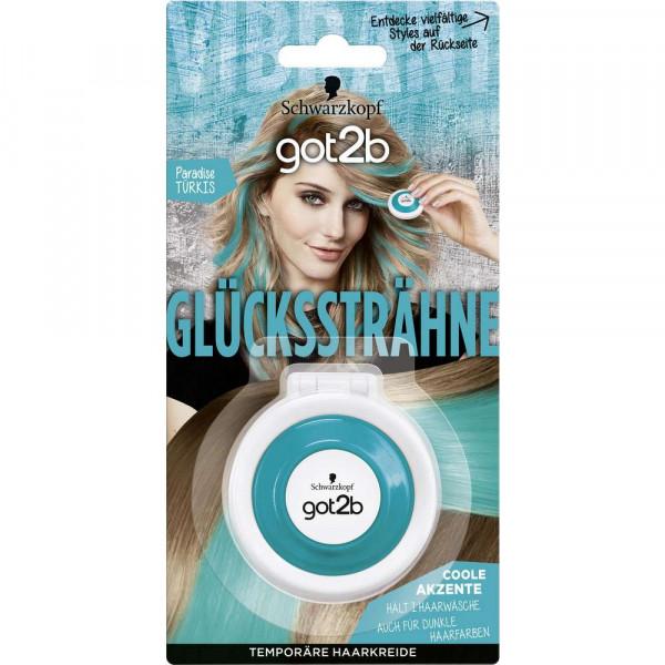 "Haarfarbe ""got2b Glückssträhne"", Paradise-Türkis"