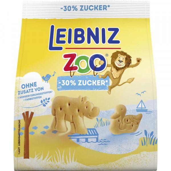 Zoo Kekse, weniger Zucker