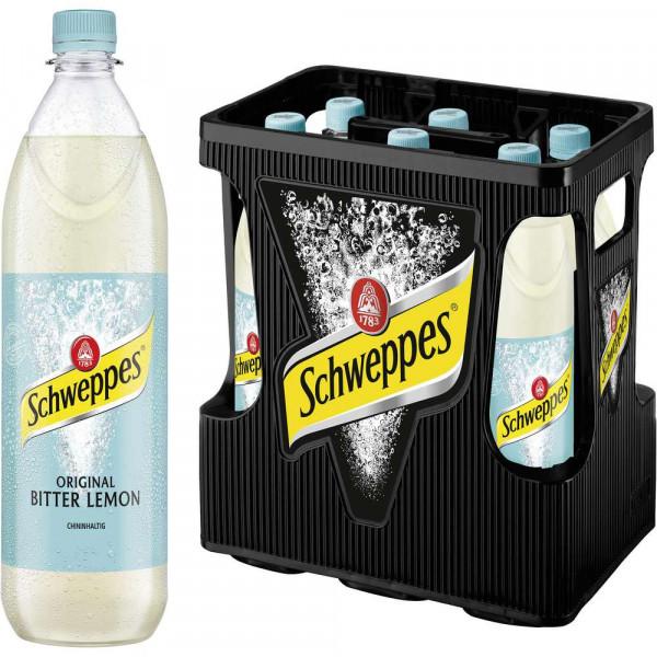 Bitter Lemon Limonade (6 x 1 Liter)