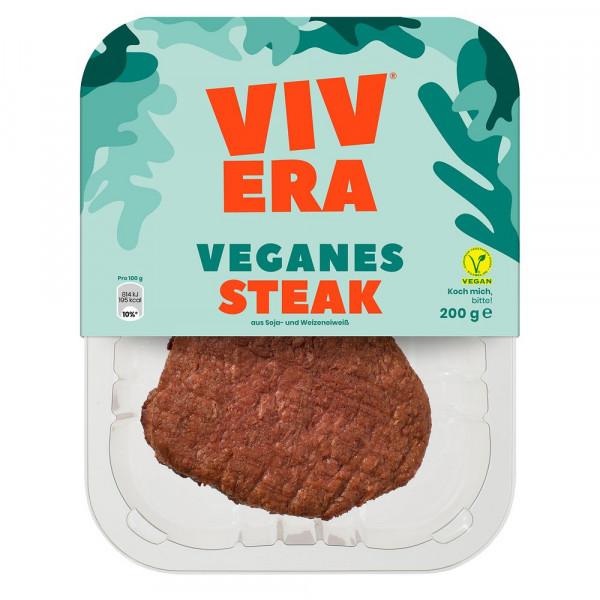 """Fleischersatz """"Steak"""", Soja- & Weizeneiweiß"""