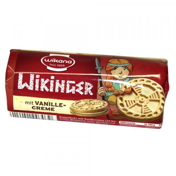 Wikinger Sandwichkeks mit Vanille-Creme