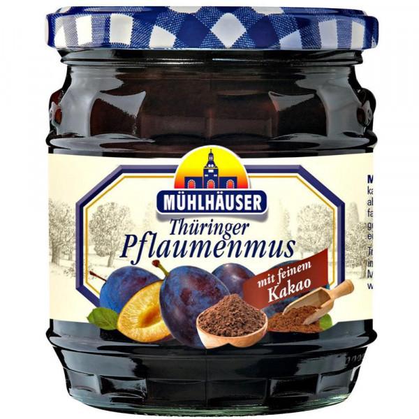 Thüringer Pflaumenmus mit Kakao
