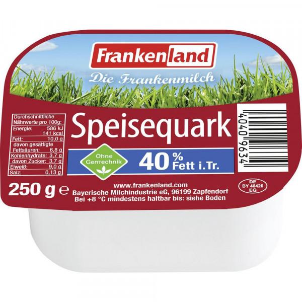 Speisequark, 40% Fett i. Tr.
