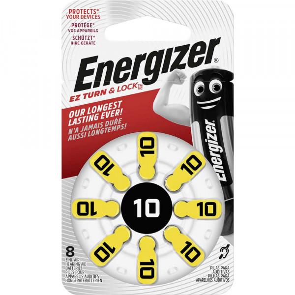 Hörgerätebatterie Zinc-Air ENR EZ Turn & Lock (10) 1,4 Volt