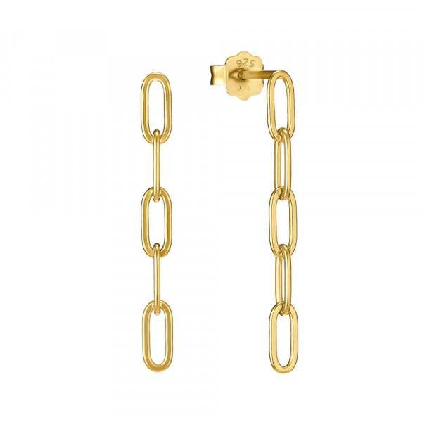 Ohrhänger aus Silber 925, vergoldet (4056866089877)