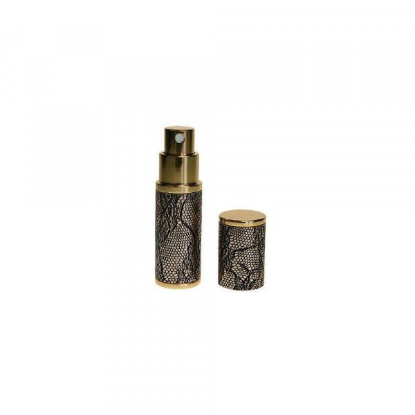 Parfüm-Zerstäuber, gold/muster