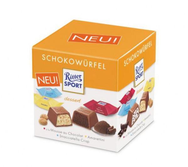Schokowürfel, Dessert