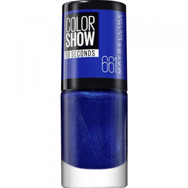 Nagellack Color Show 60 Seconds, Ocean Blue 661