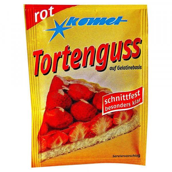 Tortenguss, Rot