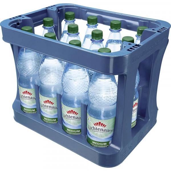 Mineralwasser, Medium (12 x 1 Liter)