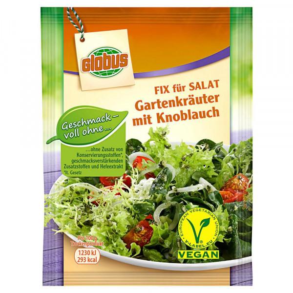 Fix für Salat, Gartenkräuter/Knoblauch