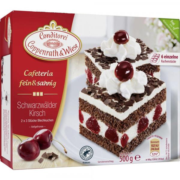 Fein&Sahnig Kuchenschnitten, Schwarzwälder Kirsch, tiefgekühlt
