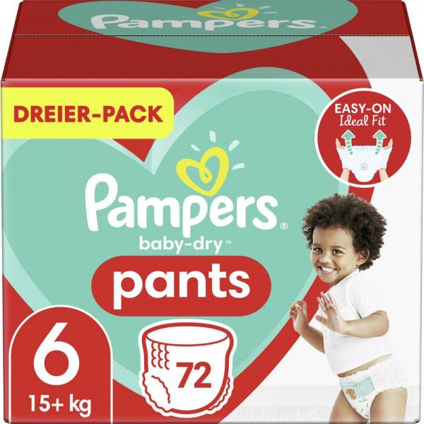 Windeln Baby Dry Pants Gr. 6, 15+kg Dreierpack