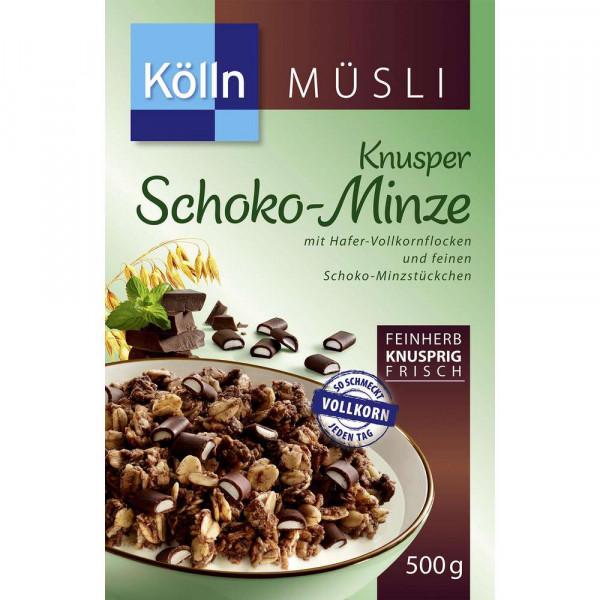 Knusper-Müsli, Schoko-Minze
