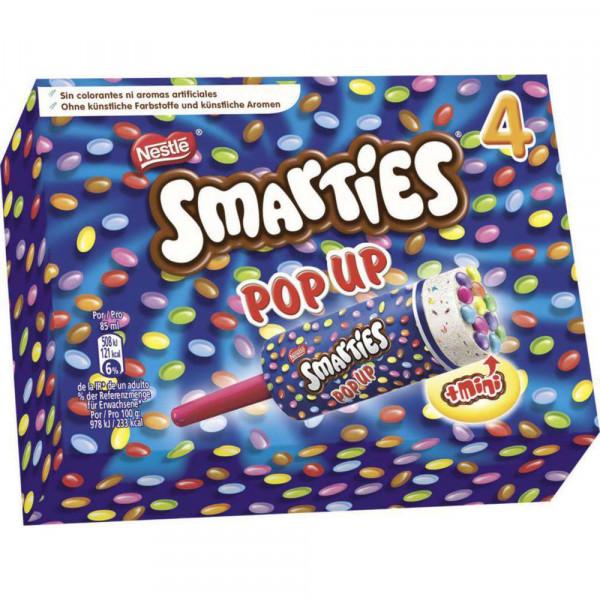 Smarties Pop Up Eis