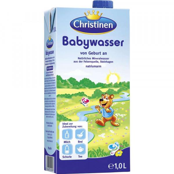 Baby Mineralwasser, still