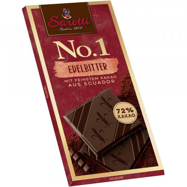 """Tafelschokolade """"No. 1"""" Kakao 72%"""