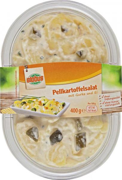 Pellkartoffelsalat mit Ei & Gurke