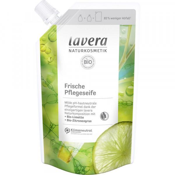 Handseife Bio Nachfüllpackung, Limette/Zitronengras