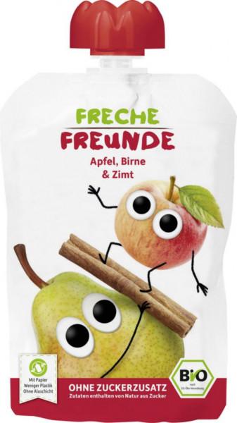 "Quetschie ""Freche Freunde"", Apfel, Birne & Zimt"