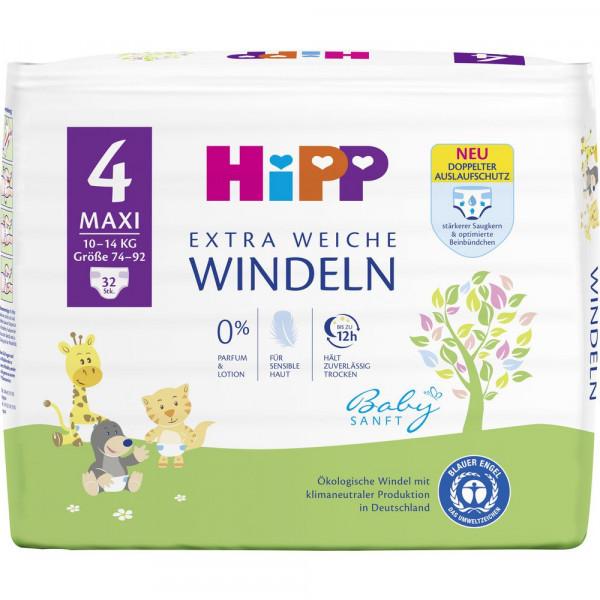 Babysanft Windeln Gr. 4 Maxi, 8-14kg