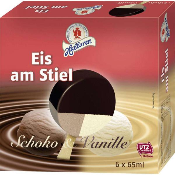 Schoko/Vanille Eis