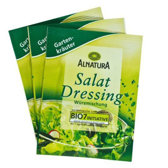 Bio Salatdressing, Gartenkräuter