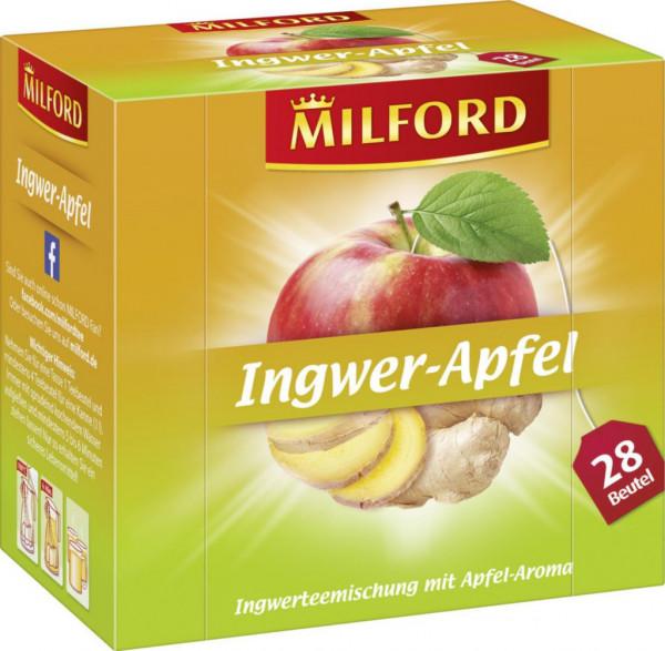 Früchtetee, Ingwer/Apfel