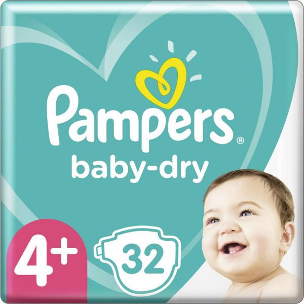 Windeln Baby Dry Gr. 4+, 10-15kg